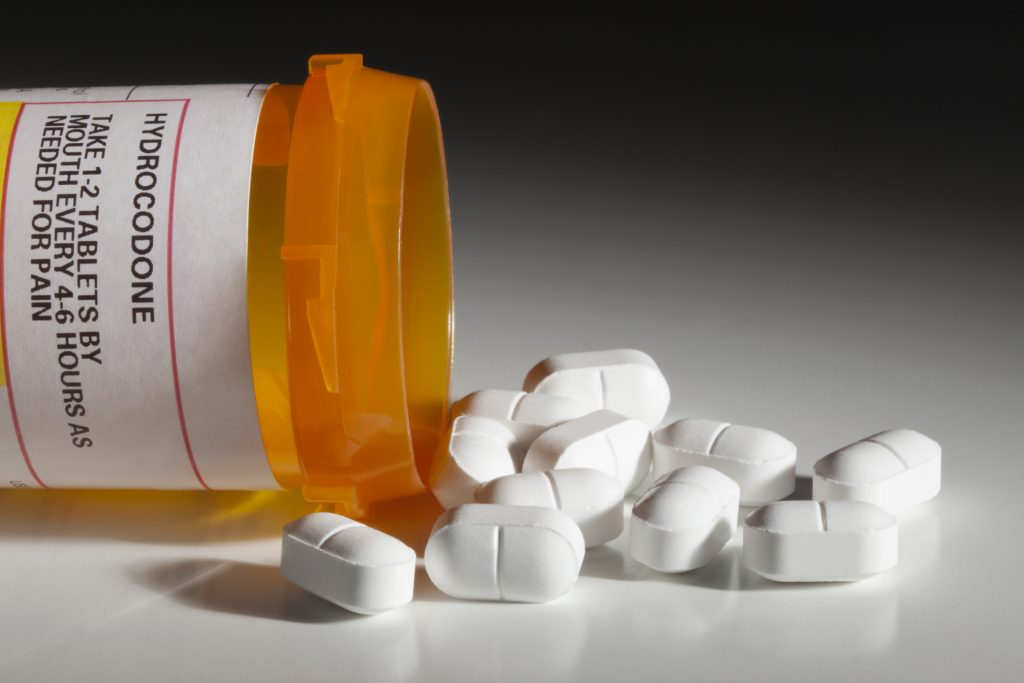 Hydrocodone is one of many prescription opioids involved in the opioid epidemic.