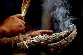 Divorce Party: Sage Smudging